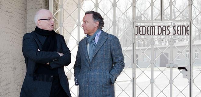Volkhard Knigge und Nico Hofmann