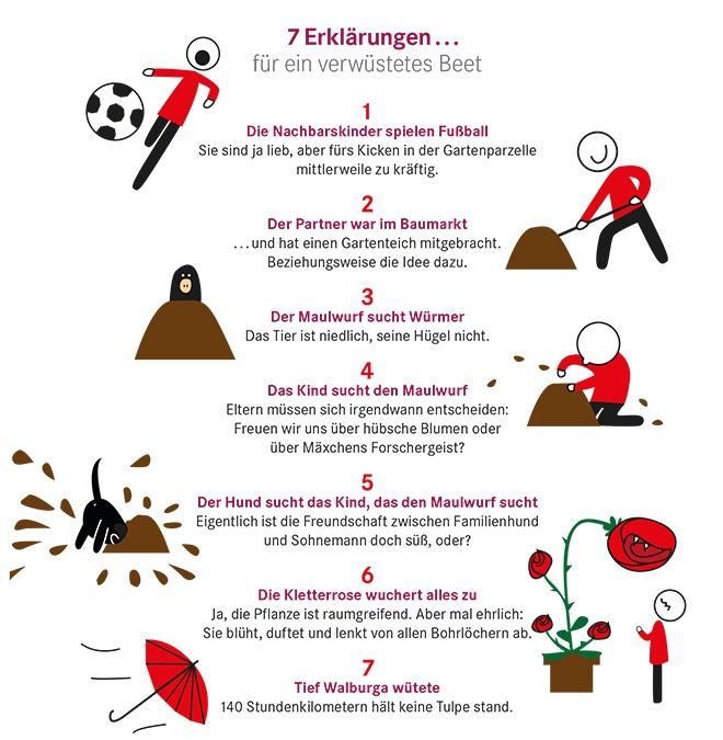 7 Dinge im Juli