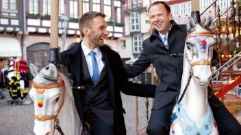 Markus und Sebastian trauen sich