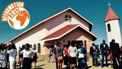 Hosianna-Gemeinde in Windhuk, Namibia