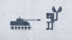 Panzer gegen Kriegsroboter