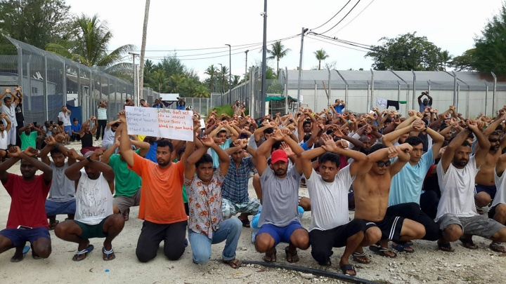 Flüchtlinge auf der Insel Manus (Papua-Neuguinea)