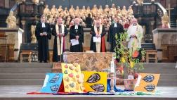 """Eröffnungsgottesdienst der diesjährigen ökumenischen """"Woche fuer das Leben"""" im Dom zu Trier."""