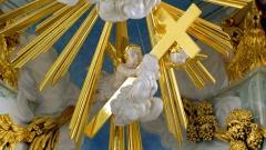 Detail aus dem Altarraum der Dresdner Frauenkirche.