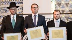 Nosson Kaplan, Benjamin Kochan und Jochanan Guggenheim wurden in der Frankfurter Westend-Synagoge ordiniert.