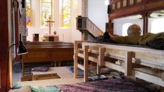 Übernachten in der Michaeliskirche in Neustadt am Rennsteig