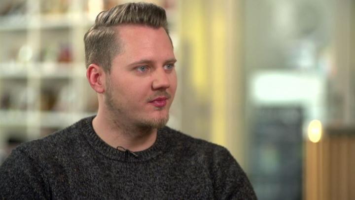 """Dominic Schmitz bei """"So gesehen - Talk am Sonntag"""""""