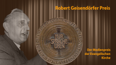Medaille des Robert-Geisendörfer Preises