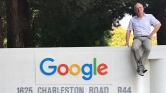 Ulrich Lilie im Silicon Valley bei Google