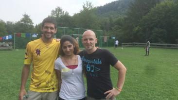 Yasin Adigüzel und andere Betreuer Freestyle Camp
