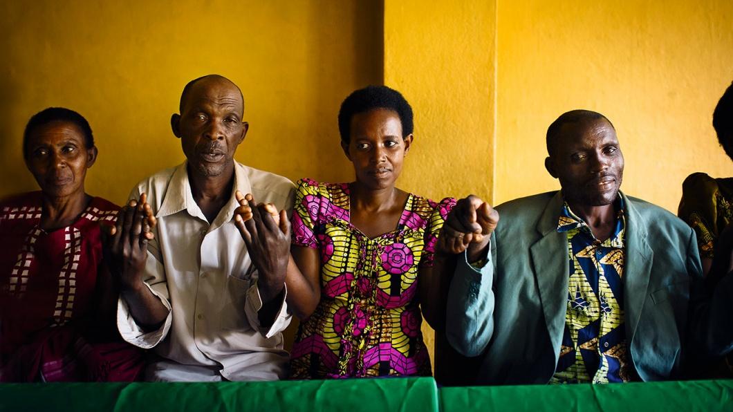 Täter und Opfer in Ruanda