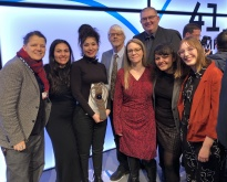 Ecumenical Jury Max Ophuels Prize 2020 with award winner Süheyla Schwenk (3rd from left)