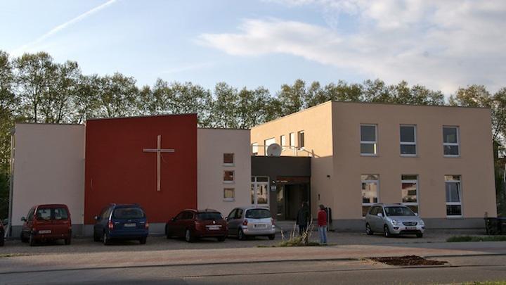 Das Gemeindehaus der Evangelischen Stadtmission Ludwigshafen.