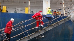 Seemannsmission besucht Seeleute an Bord