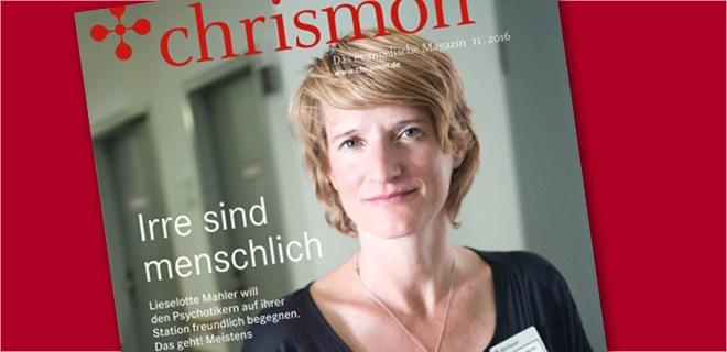 """""""Irre sind menschlich"""": Titel chrismon November"""