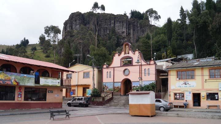 Der Marktplatz von Salinas