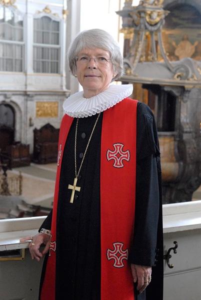 Maria Jepsen, weltweit erste lutherische Bischöfin