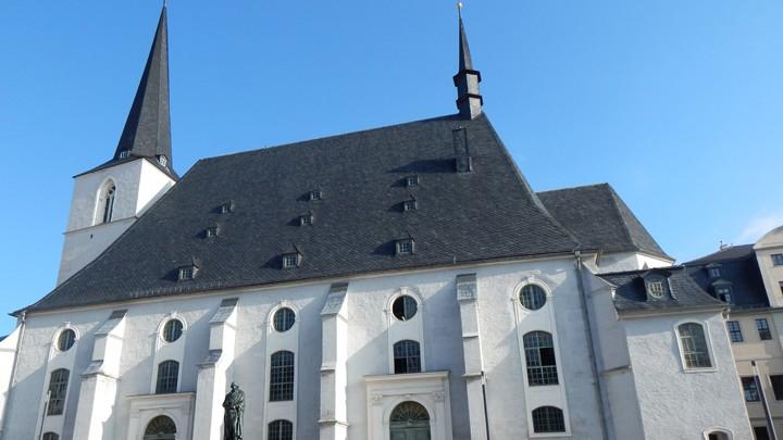 Stadtkirche St. Peter und Paul (Herderkirche) mit Herderzentrum
