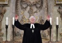 Heinrich Bedford-Strohm hält in der Dresdner Frauenkirche seine Neujahrspredigt