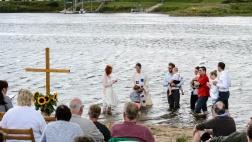 Taufgesellschaften in ganz Deutschland am Wasser