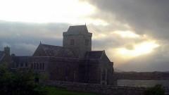 Iona Abbey auf der schottischen Insel Iona.