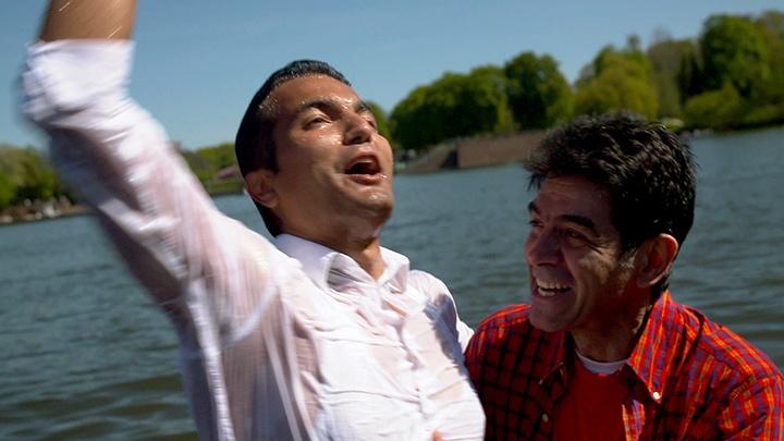 Ramin bei seiner Taufe