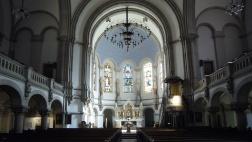Die  Apsis der Martin-Luther-Kirche in Dresden