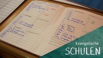 Logbuch eines Schülers der August-Hermann-Francke Hauptschule in Detmold.