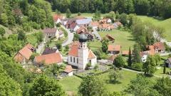 Kiche in der Schwäbischen Alb in Bichishausen.