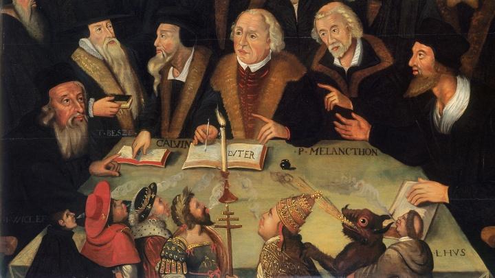 Martin Luther im Kreise von Reformatoren, 1625/1650