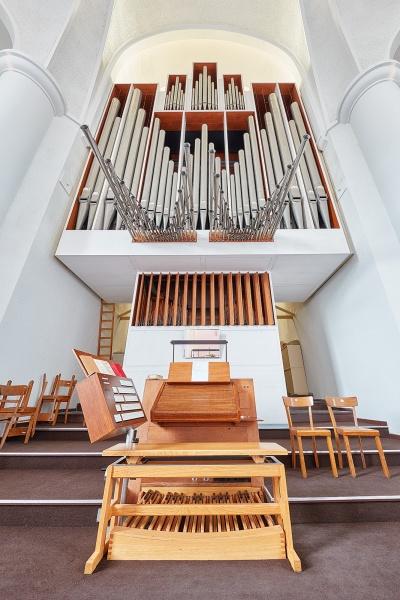 Detailsfotos von der Schuke Orgel (größte Orgel in einer evangelischen Kirche im Ruhrgebiet)