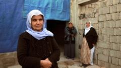 Jesidische Frauen im Nord-Irak.