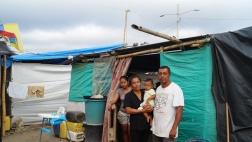 Enrique lebt mit seiner Familie in Canoa.