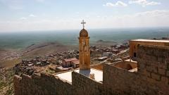 Die syrianische, syrisch-katholische Kirche Mar Simuni in Mardin in der Türkei.