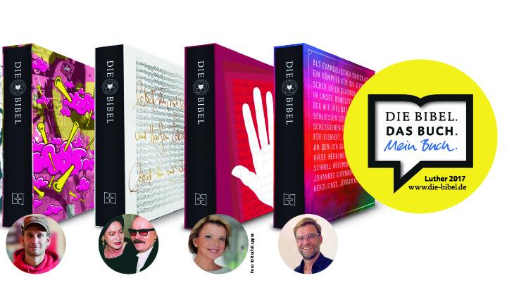 Prominente werben für die neue Lutherbibel