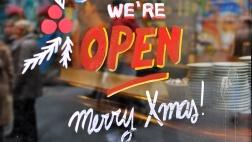Die überwiegende Mehrheit der Deutschen lehnt eine Öffnung der Geschäfte an Heiligabend ab.