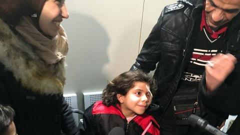 Flüchtlingskorridor_ Falak