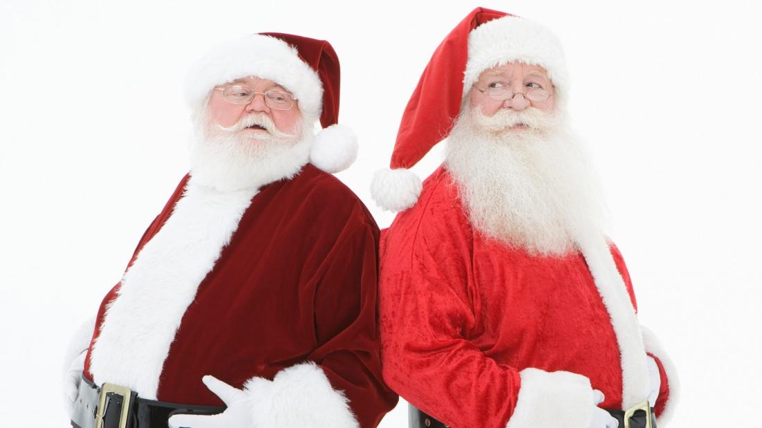 Weihnachtsmann und Nikolaus