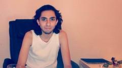 Porträt von Blogger Raif Badawi.