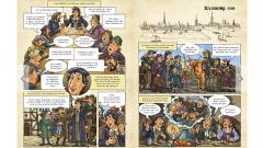 Die Nordkirche hat zum 500. Reformationsjubliläum einen eigenen Comic über die Reformation Theologen Johannes Bugenhagen in Norddeutschland und den herausgegeben.