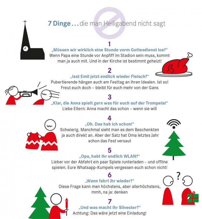 7 Dinge im Dezember