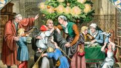 Martin Luther feiert Weihnachten im Kreise seiner Familie