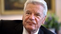 Bundespräsident Joachim Gauck in seinem Dienstzimmer im Schloss Bellevue.