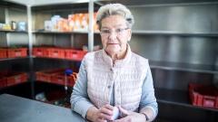 Die Leiterin und Vereinsvorsitzende der Marler Tafel, Renate Kampe.