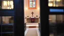 Blick in eine evangelische Kirche