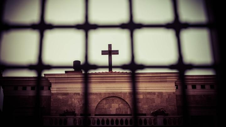 Kirche in Beirut, Libanon.