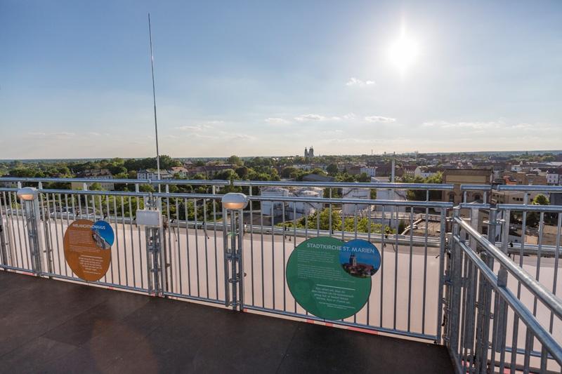 Blick über die Lutherstadt