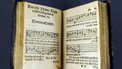 Klugsches Gesangbuch im Luthehaus in Wittenberg