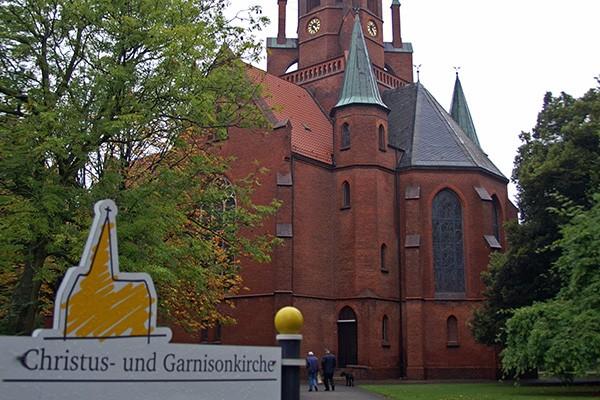 Christus- und Garnisonkirche in Wilhelmshaven