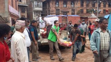 Nepal: Erste Helferin kehrt zurück, Hoffnungszeichen e.V.